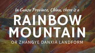 Zhangye China  City pictures : Rainbow Mountains Zhangye Danxia (China) – most colorful places on Earth