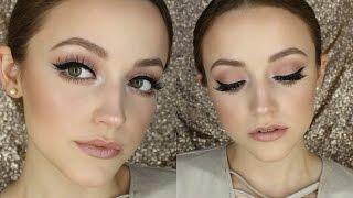 Bold Liner & Rose Tones | Makeup Tutorial