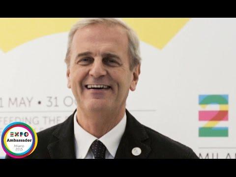 Ambassador Enrico Bertolino Expo Milano 2015