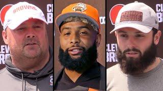 Browns discuss Odell Beckham Jr. leaving OTAs after Day 1