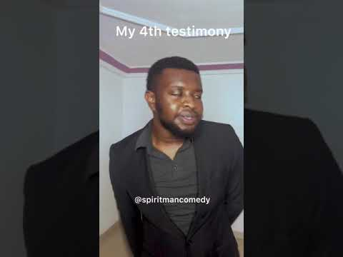 My Testimony 4 - Spiritman comedy
