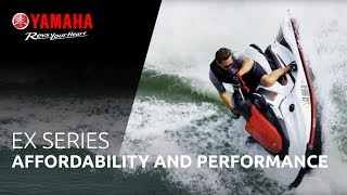 9. 2018 Yamaha EX line up – Get on the water with all features you love