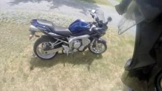 9. New Bike Reveal - 2005 Yamaha FZ6 - NJBIKELIFE