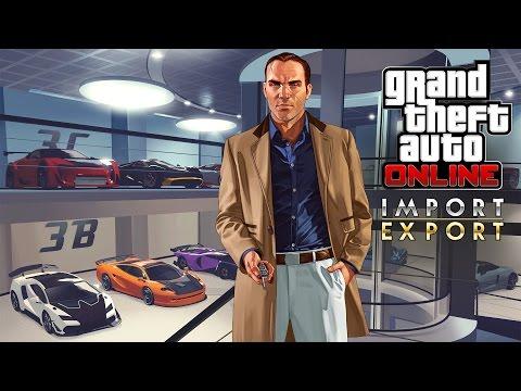 Трейлер GTA Online: «Импорт/Экспорт»
