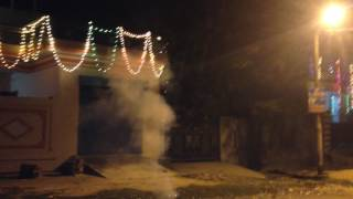 chinese sky fire cracker fun in diwali 2016