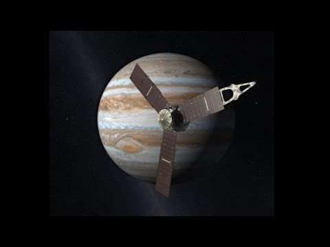 Juno Probe Has Just Entered Jupiter's Orbit and is Now Circling the Gas Giant