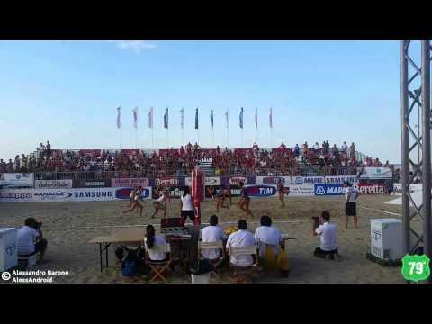 LVST15 3^ Tappa Pescara - Punto vincente di Caserta per la finale 1° Posto