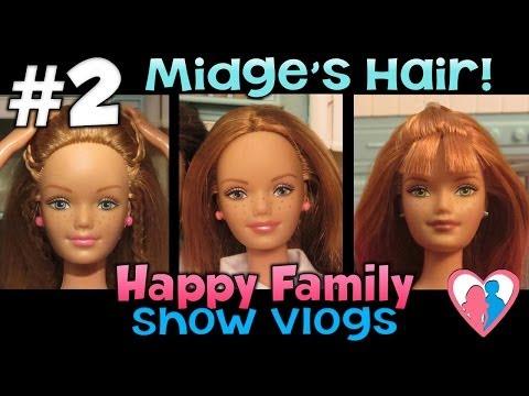 Happy Family Show Vlog #2 – Midge's Hair!