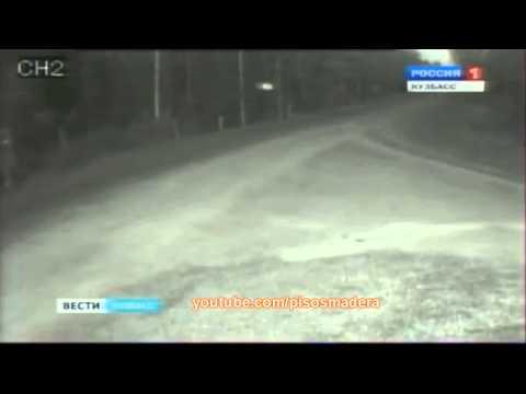 un ufo immortalato da una telecamera in russia!