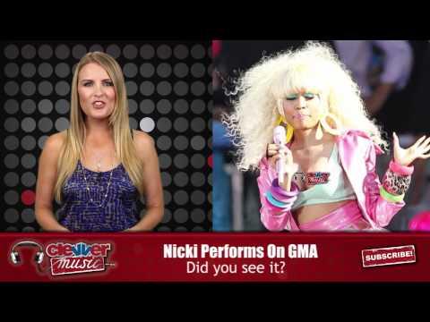 Nicki Minaj Nip Slip During GMA Performance