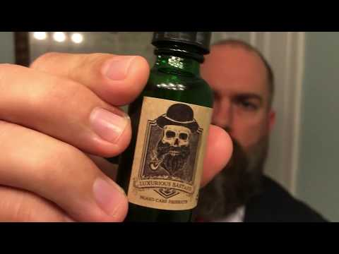 Luxurious Bastard 1912 Beard Oil and Balm Review