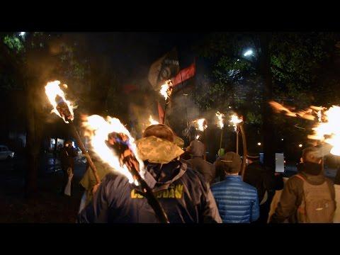 У Черкасах до Дня захисника України відбулася смолоскипна хода