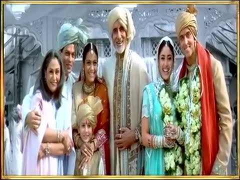Kabhi Khushi Kabhie Gham (End Scene) - Title Song (720p Special Editing)