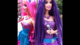 My New Barbie The Princess and The Popstar Keira and Tori ,Barbie & Ken giftset she said yes