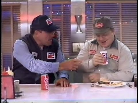 "The Classic ""Get Together"" Pepsi Commercial with the Coke and Pepsi Drivers Bonding at a Diner (1995)"