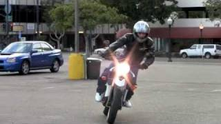 3. 2010 Zero S Electric Motorcycle - Natural Sound
