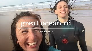 LEARNING TO SURF IN AUSTRALIA by Tamsin Danielle