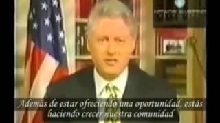 Presidente Bill Clinton a reconhecer a importância que o Network tem nesta nova economia em que vivemos.