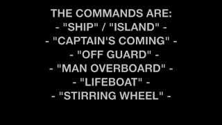 Captain S Coming Game Instructions