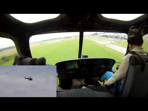HeliChallenge 2013 - Ecureuil AS-350B Morgenflug
