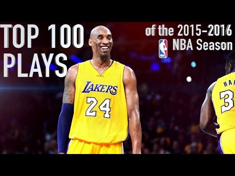 Video Top 100 Plays of the '15-16 NBA Season download in MP3, 3GP, MP4, WEBM, AVI, FLV January 2017