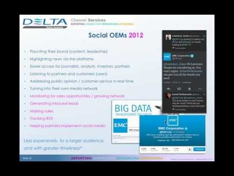 Social Media's New Leading Role in the B2B Technology Sales Process