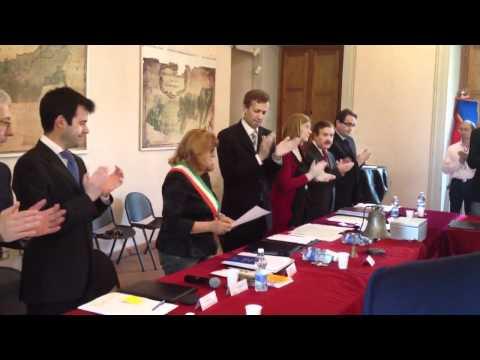 Consiglio comunale gremito per il giuramento del sindaco Cavalotti