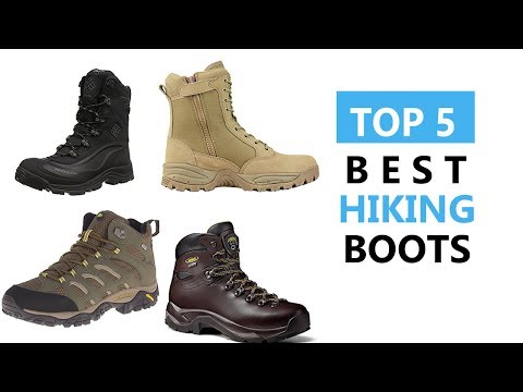 Top 5 Best Hiking Boots Review 2018