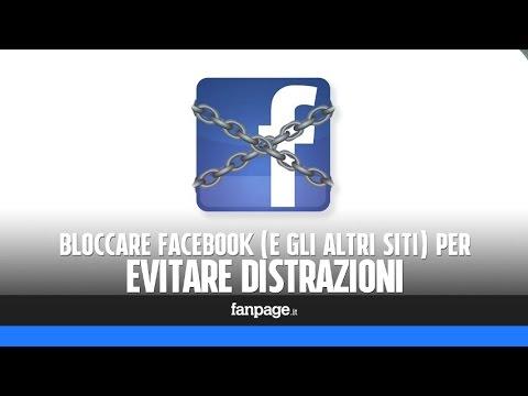 come bloccare facebook (e gli altri siti) per evitare distrazioni!
