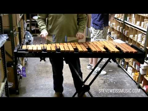 First test of the Adams AXLD35 Academy Light Rosewood Xylophone
