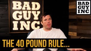 Video Do you know about the '40 Pound' rule? MP3, 3GP, MP4, WEBM, AVI, FLV Mei 2019