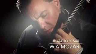 Adagio K.540, W.A.Mozart, transcribed by Carlo Marchione