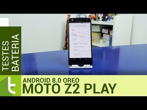 Tudocelular - Moto Z2 Play mantém boa autonomia com chegada do Android 8.0 Oreo