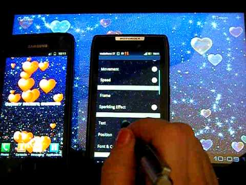 Video of My Valentine Live Wallpaper