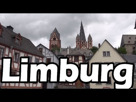 Limburg an der Lahn city tour hessen Germany