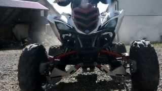 1. Sobotni chillout- Yamaha Raptor 700R & Cf Moto 500    Engine sound