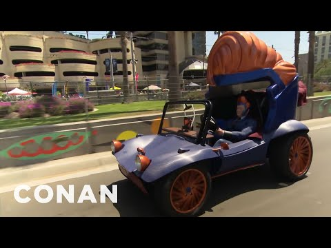 Conan  s Superhero Vehicle Hits The Streets Of San