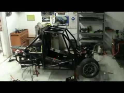Costruzione Prototipo Fiat 500 MDR1 Motore Yamaha R1