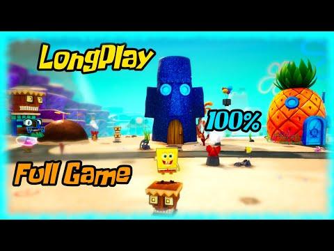 SpongeBob Battle for Bikini Bottom Rehydrated - Longplay 100% Full Game Walkthrough (No Commentary)