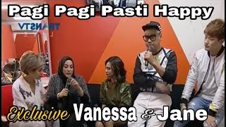 Video [EKSKLUSIF] VANESSA ANGEL DAN JANE SHALIMAR KETEMU @ PAGI PAGI PASTI HAPPY MP3, 3GP, MP4, WEBM, AVI, FLV Maret 2019