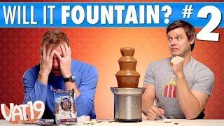 Video Ultimate Fountain Challenge #2 [Spicy Chocolate Fountain] MP3, 3GP, MP4, WEBM, AVI, FLV Maret 2019
