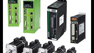 Servo motores AC y Drives