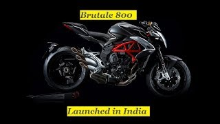 The New Brutale 800 changes completely to remain loyal to itself, and to its ability to amaze and conquer new generations of enthusiasts. Style, engine, equipment and chassis are all called into question again with the aim of creating the best Brutale of all time.* In-line 3-cylinder engine with counter-rotating crankshaftMVICS (Motor & Vehicle Integrated Control System) technology 8-level traction control.* Composite steel trellis and aluminium plate frame for high torsional rigidity.* Single-sided swingarm with adjustable rear monoshockUpside-down adjustable 43 mm front fork.* Racing-type radial front calipers.