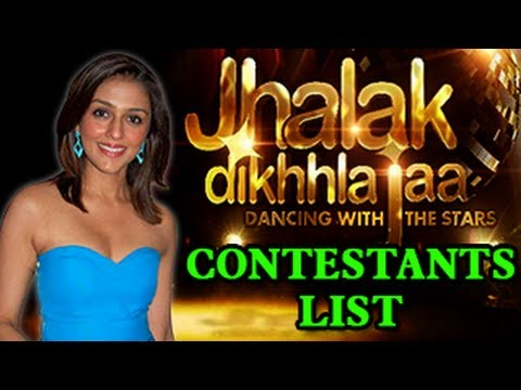 contestants - Watch Jhalak Dikhla Jaa's FINAL CONTESTANTS LIST . Yes finally the names of the contestants are coming out in the open. Jhalak Dikhla Jaa 6 has been doing th...