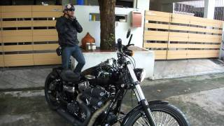 5. 2010 FXDWG DYNA WIDE GLIDE First ride
