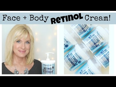 RETINOL Cream For The FACE & BODY! Anti-Aging Skin Care!