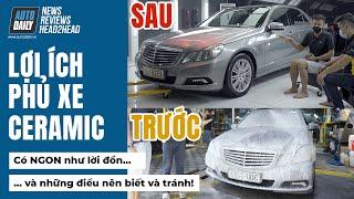 Phủ Ceramic Coating Car phục hồi và bảo vệ sơn xe - Những điều nê biết và cần tránh