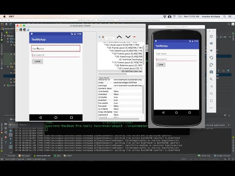 138-  Android Automated UI Testing فحص الواجهات