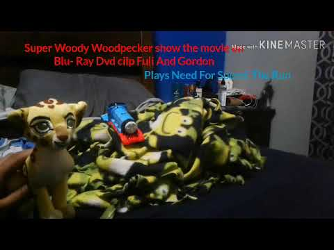 Super Woody Woodpecker Show The Movie  On Blu Ray Clip Fuli And Gordon Plays Need For Speed The Run
