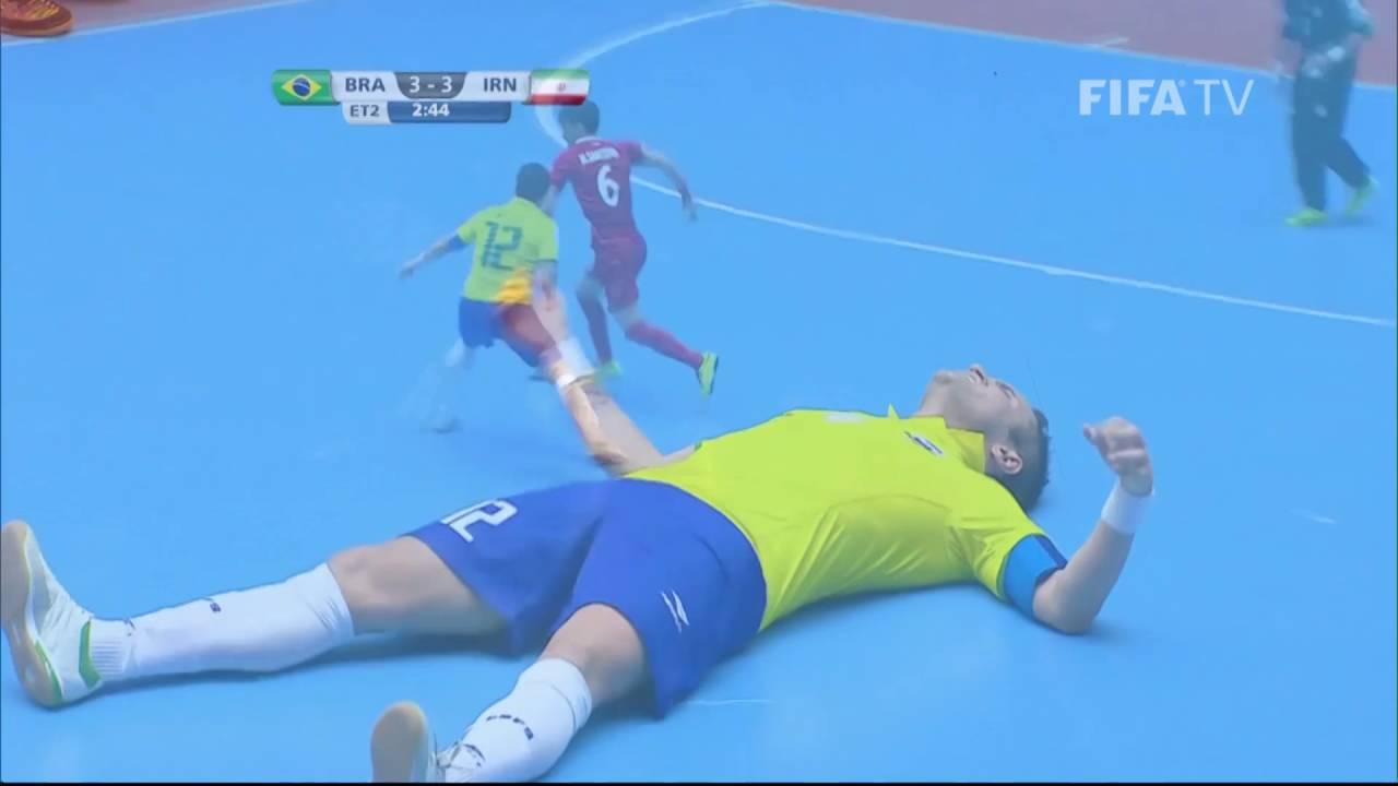 Match 39: Brazil v Iran – FIFA Futsal World Cup 2016